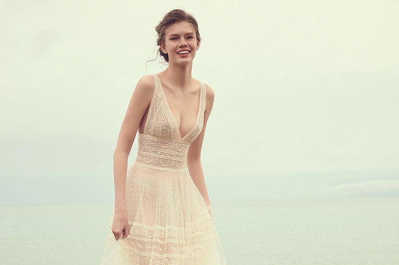 bdb7b67eefc Vestidos de novia sencillos: los 91 modelos más bonitos