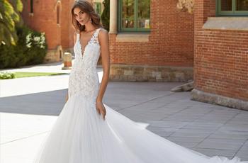 Vestidos de novia Luna Novias 2021: ¡sensuales y elegantes!