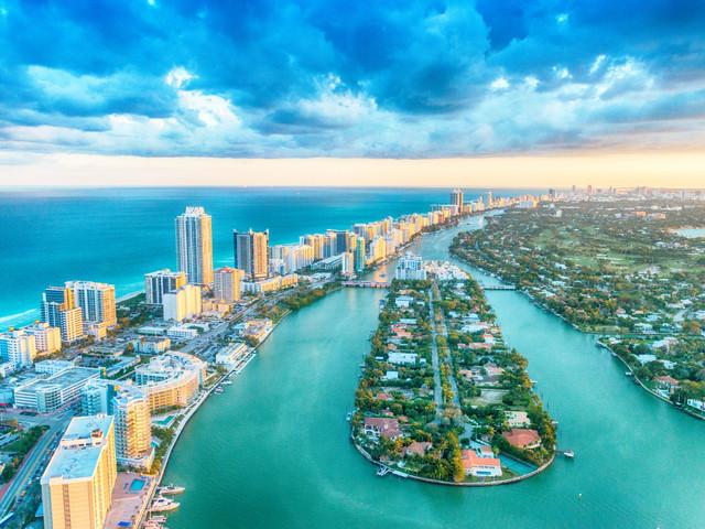 Luna de miel en Miami