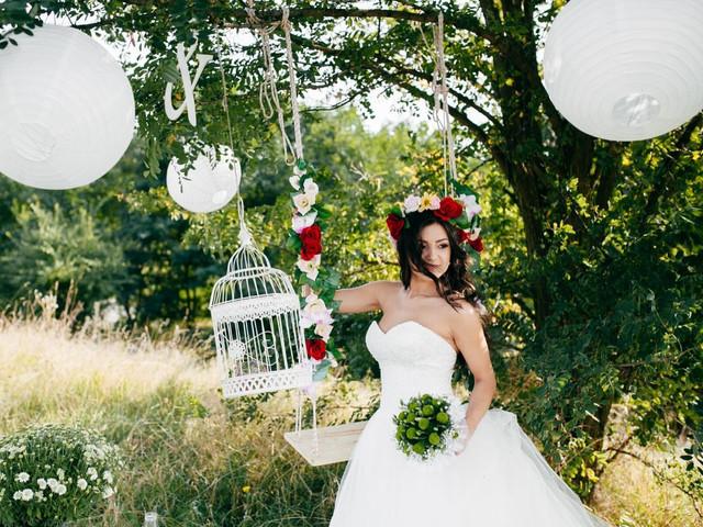 Decoración para bodas con lámparas chinas