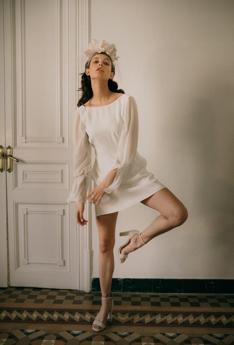 Vestido de novia Otaduy 2021 corto