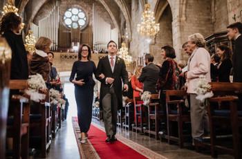 Protocolo para entrar a la iglesia en una boda