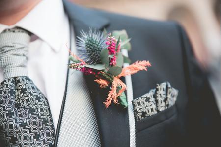 ¿Qué es el prendido de novio o 'boutonnière'?
