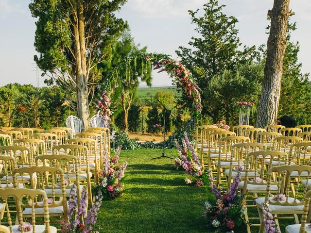 8 altares de boda diferentes... ¡y llenos de estilo!
