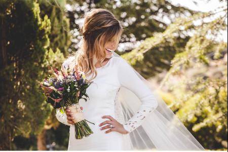 Semirecogidos para novias: 25 peinados llenos de estilo