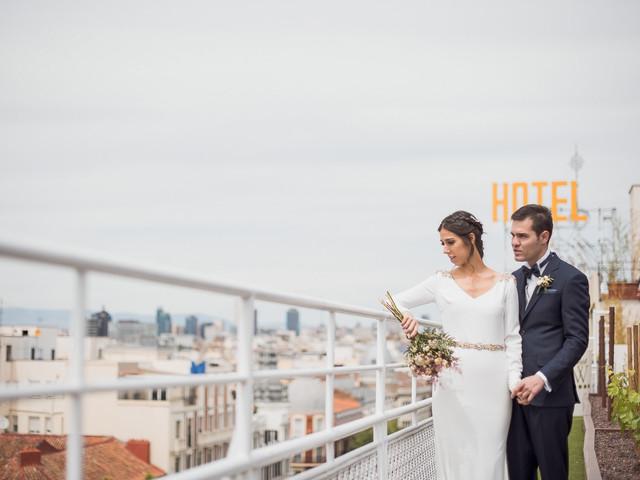 ¿Conocéis las 8 ventajas de casarse en un hotel urbano?