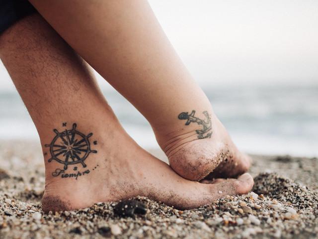 Tatuajes gemelos para un amor eterno. ¿Os atrevéis?