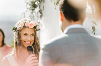 ¿Cuál es el mejor momento para dar el discurso de boda?