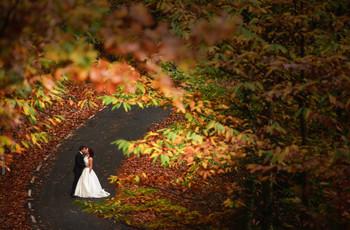 Buenas razones para casarse en otoño