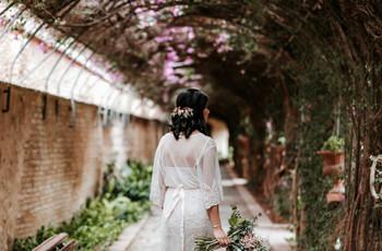 Tendencias 'top' en peinados de novia con media melena. ¡No te las puedes perder!