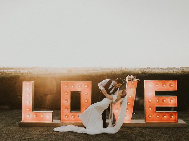 Claves para un vídeo de boda romántico