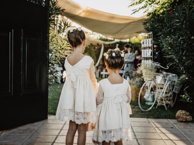 Cómo vestir a las damitas y a los pajes de vuestra boda