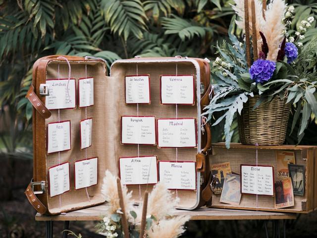 40 ideas originales para el 'seating plan' de vuestra boda