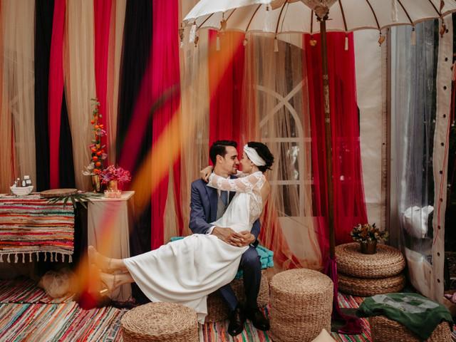 8 formas de añadir color a la boda (sin que sea con flores)