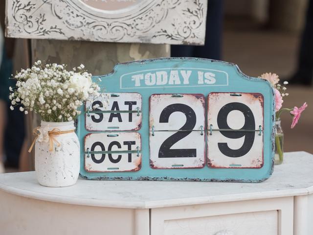 Cómo elegir las mejores fechas para vuestra boda soñada