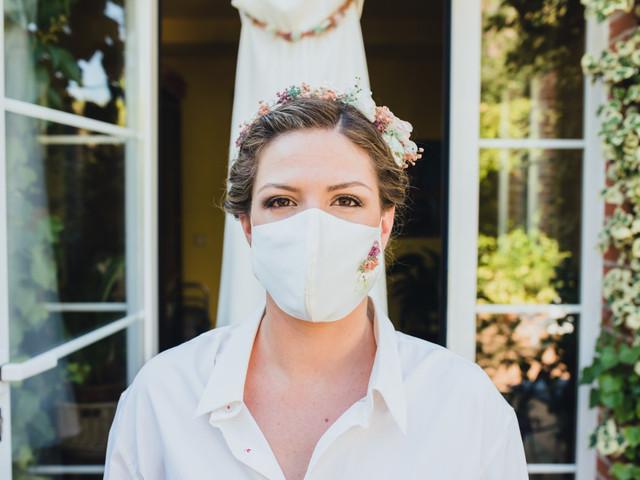 30 fotos representativas de las bodas en la era del coronavirus