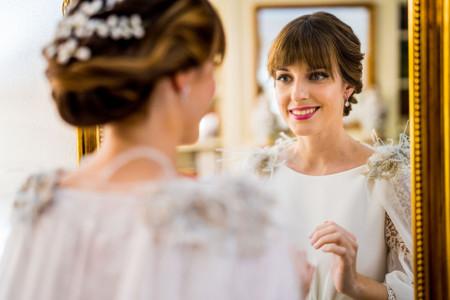 Recogidos con flequillo: los mejores peinados para boda