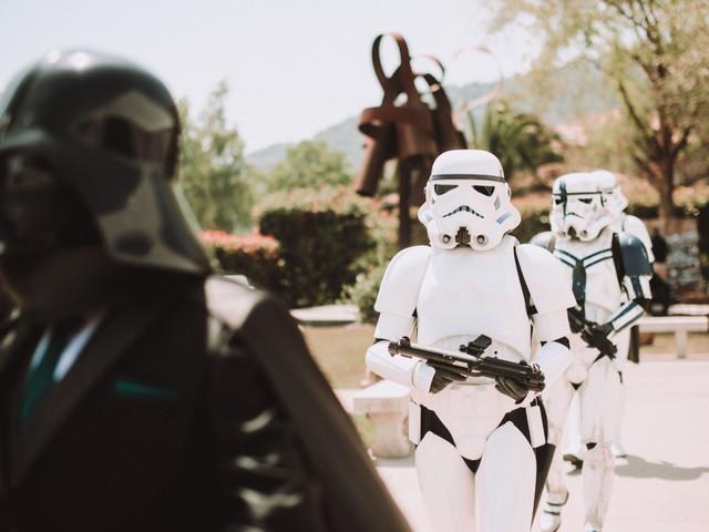 ¿Cómo preparar una boda inspirada en Star Wars?