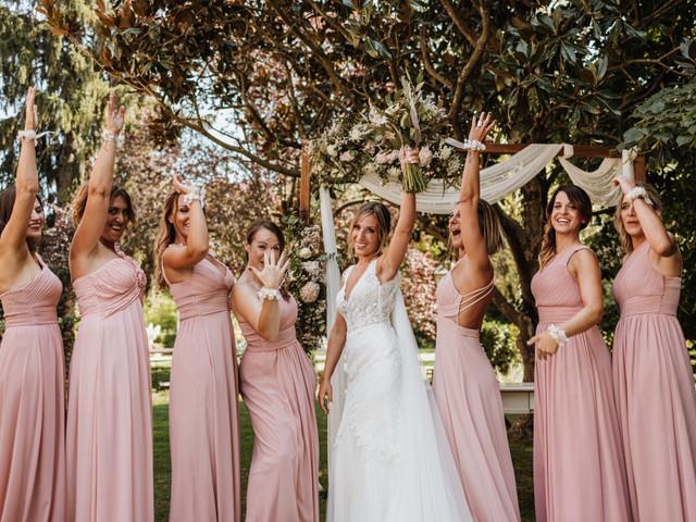 Dudas de novia: ¿sabes cuántas damas de honor puedes tener?