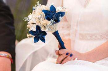Ramos de novia artificiales: ¡35 ideas que te enamorarán!