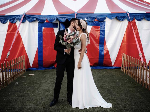 Ideas para una boda inspirada en el circo