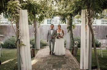Entrada a la ceremonia, ¿juntos o por separado?