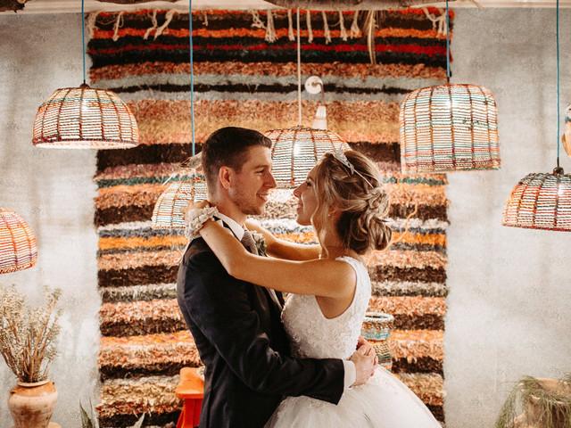 Paletas de color para decorar bodas de otoño