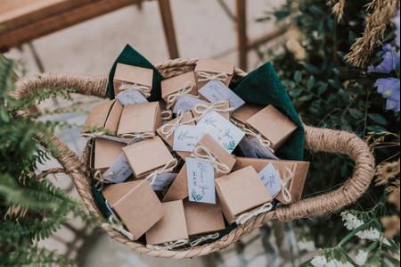 Detalles de boda: 10 propuestas infalibles para vuestros invitados