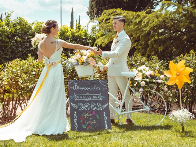Las mejores ideas para una boda... ¡en amarillo!