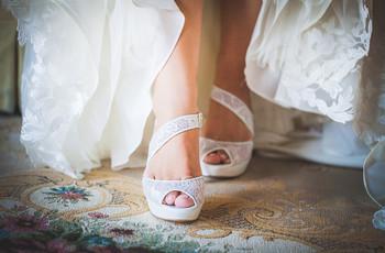 55 zapatos de novia 'vintage' llenos de encanto