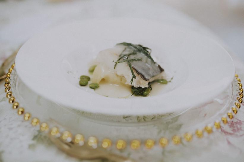 Prueba del menú antes de la boda