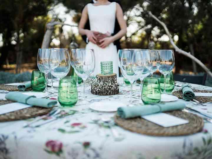 ¿Cómo decorar mesas de boda redondas?