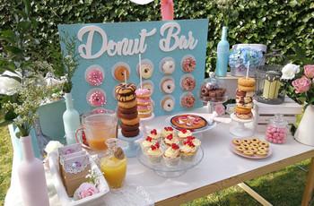 Incluid una barra de donuts el día B