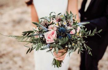 Los ramos de novia infalibles para triunfar en 2021. ¡Elige el tuyo!