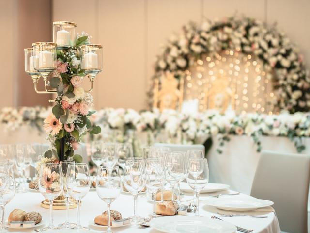 6 ideas de centros de mesa para bodas de otoño