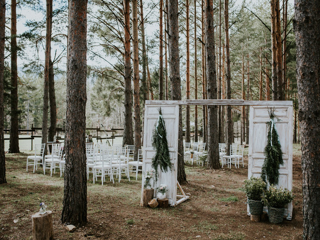 ¡Ideas 'top'! Estas son las mejores propuestas para decorar vuestra boda en un bosque