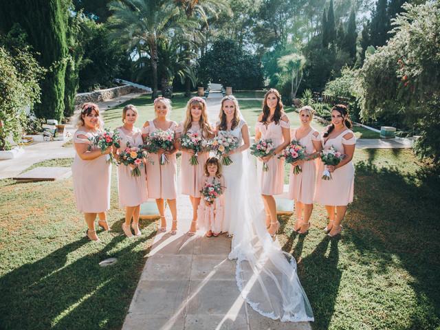 ¿Vas a tener damas de honor en la boda? 5 ideas para darles las gracias como se merecen