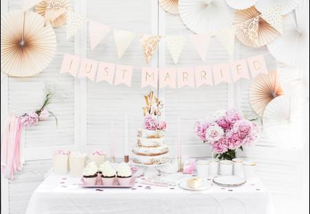 Ideas para un 'candy bar', la mesa de dulces de vuestra boda