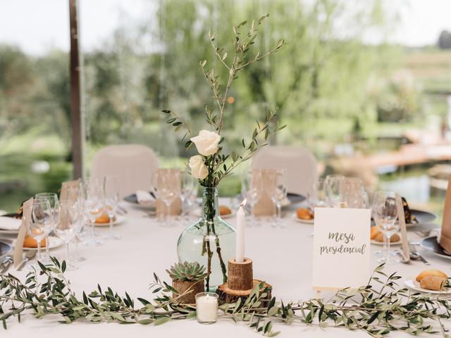 7 ideas para decorar la mesa presidencial de la boda