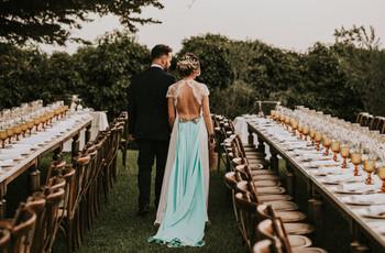 'Tips' para decorar las mesas de boda rectangulares