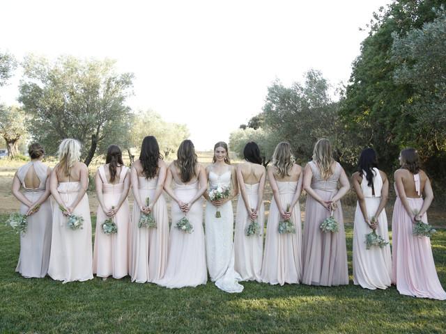 Tips para elegir los ramos de las damas de honor