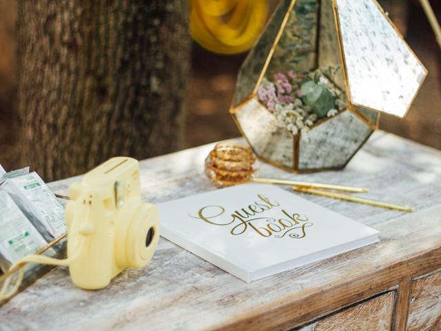 Lo más 'in' para decorar vuestra boda: ¡cámaras de fotos!