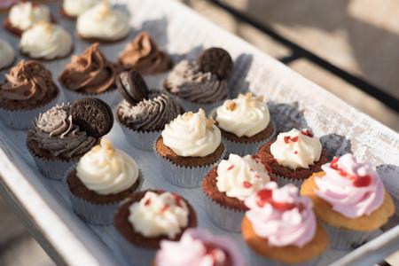 'Cupcakes' para bodas. ¡Irresistibles!