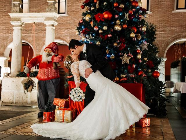 ¿Os casáis durante las fiestas? Descubrid qué colores de Navidad no pueden faltar en vuestra boda