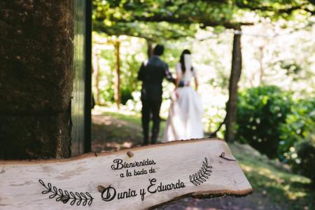 Frases originales para los carteles de bienvenida a la boda