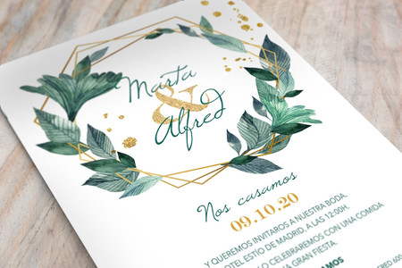 Invitaciones de boda 2020: ¡conoced todas las tendencias!
