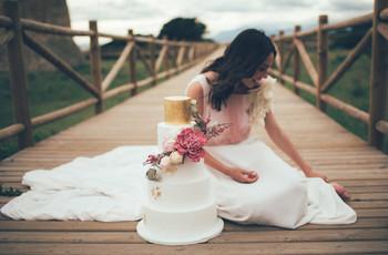 ¡Palabra de expertos! Esto es lo más nuevo en sabores y diseños para tartas de boda 2021