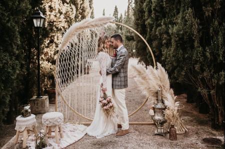 Pampa grass, lo último en decoración de boda