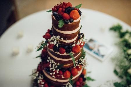 'Naked cakes' o tartas desnudas, una opción muy 'trendy'