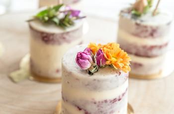 Tartas individuales para bodas: ¡descubrid sus opciones!